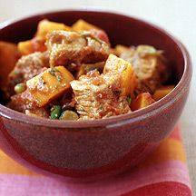 Cuban Style Pork and Sweet Potato Slow Cooker Stew