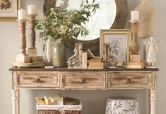 Sergent 3 Drawer Console Table