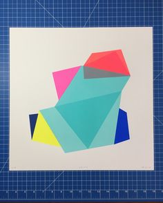 Frea Buckler is one of fifteen fantastic artists represented in our launch collection. 'Shift a screen print (edition of 40 x 40 cm) is available exclusively from Look Up. Central Saint Martins, Online Print Shop, Screenprinting, Affordable Art, Geometric Art, Limited Edition Prints, Looking Up, Printmaking, Geometry