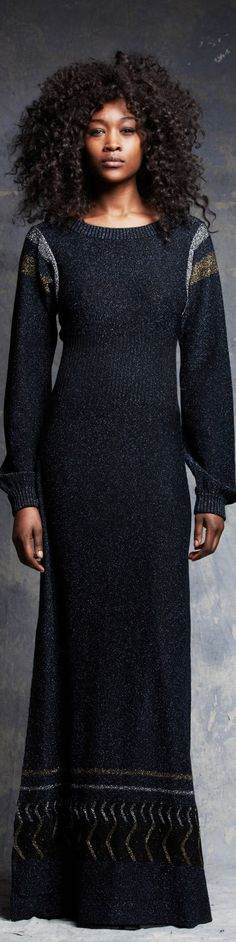 Pam & Gela - RTW Fall Pam & Gela, High Neck Dress, Costumes, Fall 2016, Casual, Collection, Knitting, Winter, Dresses