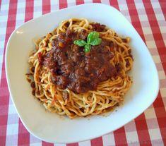 Spaghetti Bolognese mit Zutaten aus der Toskana - Katha-kocht!