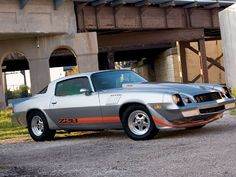 "1979 Chevrolet Camaro Z28 -- for those times when you need to ""white trash"" it up."
