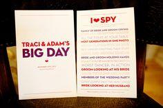 I Spy! #wedding games #i spy # reception ideas