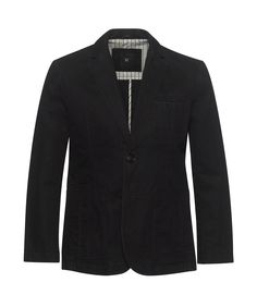 Cotton Casual Blazer - Working Style