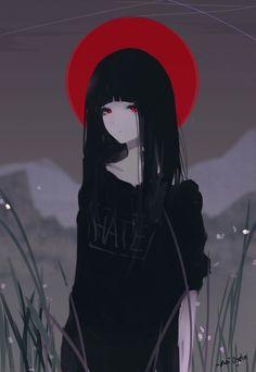 Hate Chan, Aoi Ogata on ArtStation at https://www.artstation.com/artwork/XxR0D
