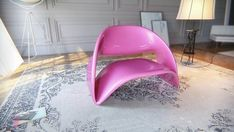 Furniture : Stylish Colorful Lyubkka Chair By Nuvist With Amazing Furniture Contemporary Design Ideas With Pink Colors And Sleek Surfaces Design Modern And Antique Lamp And Classic Carpetfor Modern Home Furniture Decorations Stylish Colorful Lyubkka Chair by Nuvist Pink Chair. Modern Choir Music. Hot Pink Lounge Chair.