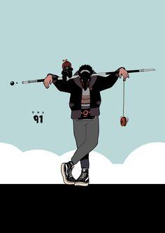 By Daniel Isles #instagram@dirtyrobot #twitter @1SLES #artist #illustration #comic http://dirtyrobot.work/