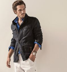 "Justice Joslin for Massimo Dutti | The Equestrian ""EQ"" Collection Spring/Summer 2015"