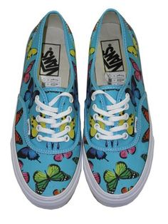 Vans Authentic Slim Butterflies Trainers 64f932eeaa