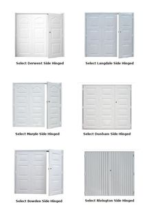 View the Select side-hinged collection of garage doors supplied to the UK market by Garage Door King - click http://tinyurl.com/select-side-hinged-garage-door