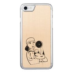 #wood - #DoctorFlex Wood Phone Case Curly Hair