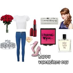"""A dozen roses"" by directiondetection on Polyvore"