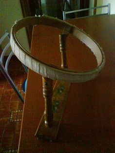 Wooden Hoop, Couture, Quilts, Table, Hobby, Furniture, Needlework, Gypsy, Embroidery