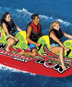 Look at this #zulilyfind! Dragon Boat Towable Boat by WOW World of Watersports #zulilyfinds