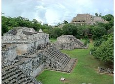 Ek' Balam is a Yucatec-Maya archaeological site within the municipality of Temozón, Mexico, in the Mid-east of the Northern lowlands, and 32 miles northeast of Chichen Itza. From the Preclassic until the Postclassic period, it was the seat of a Mayan kingdom.