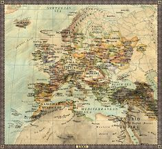 Europe in 1200.