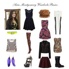 """Aria Montgomery """"Must Haves"""""""