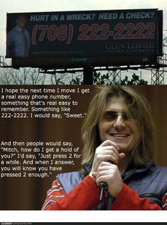 You will know you have pressed 2 enough... Mitch Hedberg