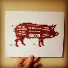 Pig Butcher Diagram, Butcher Chart - Kitchen Sign, Kitchen Print, Kitchen Art, Bacon Print, Bacon Sign, Bacon by BentonParkPrints on Etsy https://www.etsy.com/listing/126415694/pig-butcher-diagram-butcher-chart