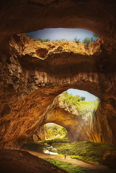 "Devetashka Cave - Bulgaria via 500px / Photo ""Devetashka cave"" by Silvia S."