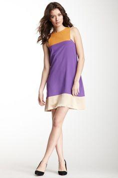 M Missoni Sleeveless Colorblock Silk Dress