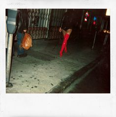 """Red Boots & Booty Shorts - Dash Snow """"Polaroids"""""""