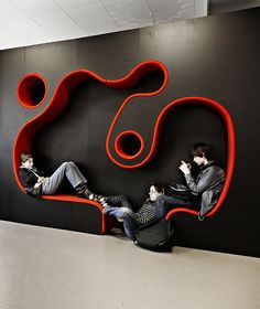 Colorful & Multifunctional Learning Spaces At The Vittra School, Stockholm ~ DesignDaily Network