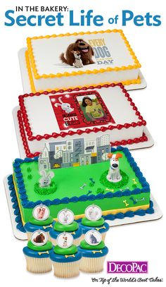 Add Secret Life of Pets to your cake case.
