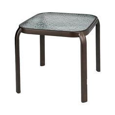 Small Patio Side Table