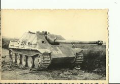 FOTO WK2 WW2 PANZER JAGDPANZER JAGDPANTHER TANK 459 | eBay