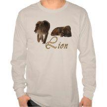 African Lions Beautiful Big Cat Wildlife T-Shirt