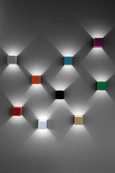 Strength in numbers: when grouped together these little lights create quite an impact!