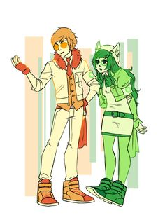 Street Sprites (Dave and Jade) by blackoutballad