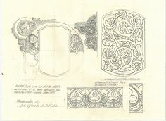 D de Diana. Boceto para una D mayúscula. Para un futuro texto de Jutta von Sponheim.