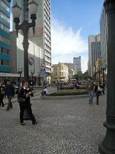 Curitiba, Brasil-RUA XV