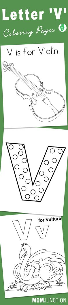 V is for volcano craft preschool craft letter of the for Letter v coloring pages preschool