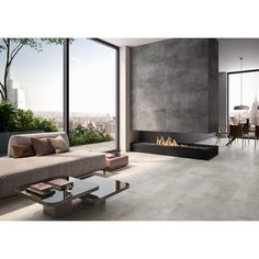 Villeroy und Boch Spotlight Optima cm White 2960 0 Villeroy und Boch Spotlight Optima al Modern Fireplace, Living Room With Fireplace, Fireplace Design, Living Room Home Theater, Living Room Decor, Minimalist House Design, Minimalist Home, Latest Bathroom Tiles, Fireplace Surrounds