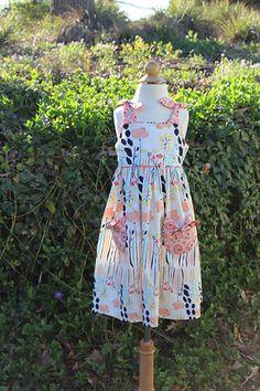 """Summer Fun"" , Sweet Dress, Bonnie Blue Designs #160 Kimberly (3-19-15) (4 Available)"