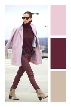 casual date outfit Colour Combinations Fashion, Color Combinations For Clothes, Fashion Colours, Colorful Fashion, Color Combos, Fashion Mode, Look Fashion, Autumn Fashion, Fashion Outfits