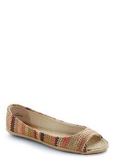 Crochet Club Flat   Mod Retro Vintage Flats   ModCloth.com