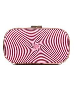 Anya Hindmarch Marano Eye Twister Swirl Clutch