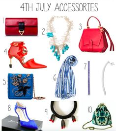 Michelle Pajak-Reynolds Naiad necklace in Nolcha Shows's Monday Must Haves July 4th Accessories editorial