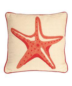 Look what I found on #zulily! Careen Starfish Pillow #zulilyfinds