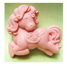 96x68x37mm high quality silicon pony shape mold, cute pony soap mold, little horse soap mold mould for KIDS
