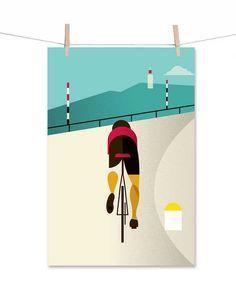 Le Tour poster - Mt. Ventoux