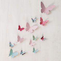 Je confectionne des papillons en papier | Prima