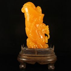 Superb Indonesia Jin Tian Huang Statue - Fortune Beast