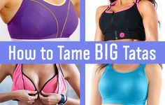 How to Tame Big Tatas - best sports bras