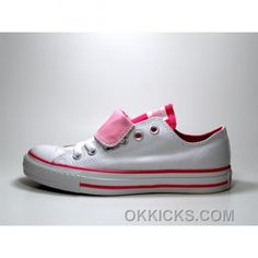 http://www.okkicks.com/converse-all-star-double-tongue-white-pink-shoes-znqtj.html CONVERSE ALL STAR DOUBLE TONGUE WHITE PINK SHOES HKSNW Only $73.00 , Free Shipping!