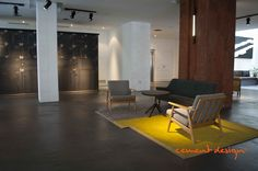 Cement Design se adapta perfectamente a cualquier estilo como puedes ver en esta imagen  #hotel #hotels